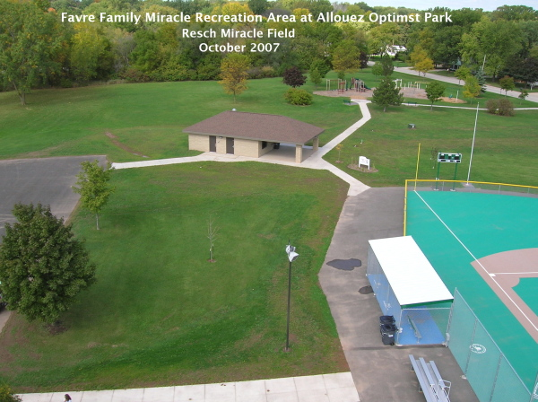 Favre Family Miracle Recreation Area at Allouez Optimist Park