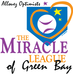 The Miracle League of Green Bay logo